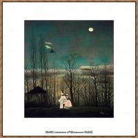 法国画家亨利卢梭Jacques Rousseau油画作品高清图片杰出的油画作品梦 (36)