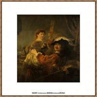 荷兰现实主义画家伦勃朗Rembrandt17世纪最伟大的画家油画作品高清大图肖像画风景画风俗画宗教画 (39)