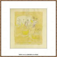 画家保罗克利Paul Klee油画作品高清图片野兽派油画大师作品高清大图 (67)