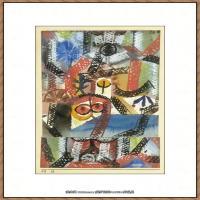 画家保罗克利Paul Klee油画作品高清图片野兽派油画大师作品高清大图 (114)