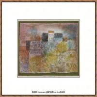 画家保罗克利Paul Klee油画作品高清图片野兽派油画大师作品高清大图 (63)