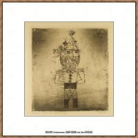 画家保罗克利Paul Klee油画作品高清图片野兽派油画大师作品高清大图 (57)