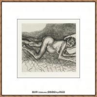 英国表现派绘画大师卢西安弗洛伊德Lucian Freud油画作品高清大图最贵画家卢西安弗洛伊德绘画作品高清图库 (32)