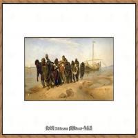 列宾Ilya Repin经典油画作品高清图片人物肖像油画作品图片素材写实派画家油画作品大图 (5)