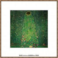 克里姆特Gustav Klimt油画作品奥地利象征主义画家克里姆特油画作品高清图片 (14)
