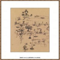 画家保罗克利Paul Klee油画作品高清图片野兽派油画大师作品高清大图 (107)