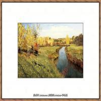 俄罗斯画家伊萨克列维坦Isaac Levitan油画风景作品图片风景油画高清大图 (11)