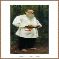 列宾Ilya Repin经典油画作品高清图片人物肖像油画作品图片素材写实派画家油画作品大图 (25)