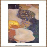 克里姆特Gustav Klimt油画作品奥地利象征主义画家克里姆特油画作品高清图片 (26)