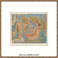 画家保罗克利Paul Klee油画作品高清图片野兽派油画大师作品高清大图 (90)
