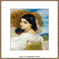 弗雷德里克莱顿洛德莱顿Frederic_Leighton油画作品高清大图古典油画作品高清图片 (6)