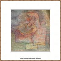 画家保罗克利Paul Klee油画作品高清图片野兽派油画大师作品高清大图 (131)