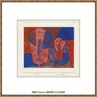 画家保罗克利Paul Klee油画作品高清图片野兽派油画大师作品高清大图 (15)