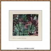 画家保罗克利Paul Klee油画作品高清图片野兽派油画大师作品高清大图 (60)