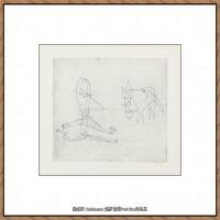 画家保罗克利Paul Klee油画作品高清图片野兽派油画大师作品高清大图 (13)