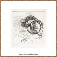 英国表现派绘画大师卢西安弗洛伊德Lucian Freud油画作品高清大图最贵画家卢西安弗洛伊德绘画作品高清图库 (28)