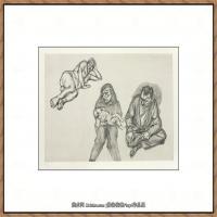 英国表现派绘画大师卢西安弗洛伊德Lucian Freud油画作品高清大图最贵画家卢西安弗洛伊德绘画作品高清图库 (79)
