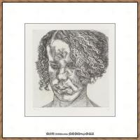 英国表现派绘画大师卢西安弗洛伊德Lucian Freud油画作品高清大图最贵画家卢西安弗洛伊德绘画作品高清图库 (12)
