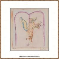 画家保罗克利Paul Klee油画作品高清图片野兽派油画大师作品高清大图 (89)