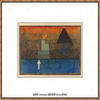 画家保罗克利Paul Klee油画作品高清图片野兽派油画大师作品高清大图 (103)