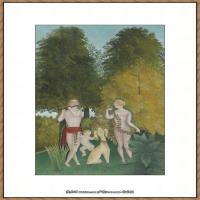法国画家亨利卢梭Jacques Rousseau油画作品高清图片杰出的油画作品梦 (24)