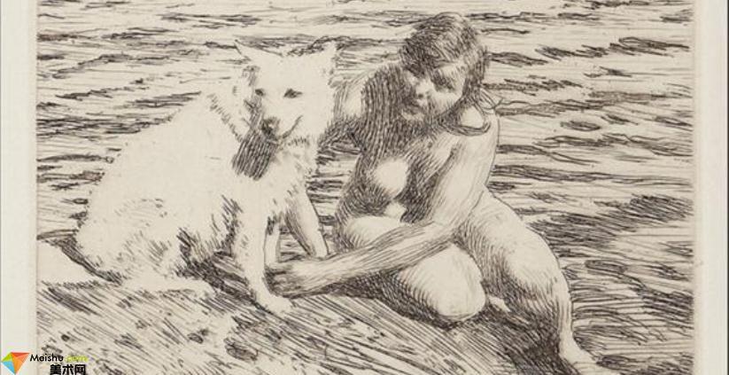 瑞典(畫家)安德斯·佐恩AndersZorn-素描展