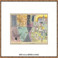 画家保罗克利Paul Klee油画作品高清图片野兽派油画大师作品高清大图 (119)