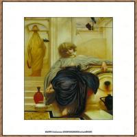 弗雷德里克莱顿洛德莱顿Frederic_Leighton油画作品高清大图古典油画作品高清图片 (76)