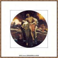弗雷德里克莱顿洛德莱顿Frederic_Leighton油画作品高清大图古典油画作品高清图片 (45)