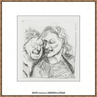英国表现派绘画大师卢西安弗洛伊德Lucian Freud油画作品高清大图最贵画家卢西安弗洛伊德绘画作品高清图库 (104