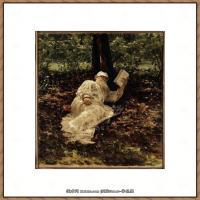 列宾Ilya Repin经典油画作品高清图片人物肖像油画作品图片素材写实派画家油画作品大图 (35)