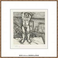 英国表现派绘画大师卢西安弗洛伊德Lucian Freud油画作品高清大图最贵画家卢西安弗洛伊德绘画作品高清图库 (146