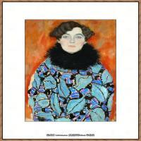 克里姆特Gustav Klimt油画作品奥地利象征主义画家克里姆特油画作品高清图片 (27)