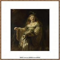 荷兰现实主义画家伦勃朗Rembrandt17世纪最伟大的画家油画作品高清大图肖像画风景画风俗画宗教画 (259)
