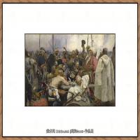 列宾Ilya Repin经典油画作品高清图片人物肖像油画作品图片素材写实派画家油画作品大图 (7)