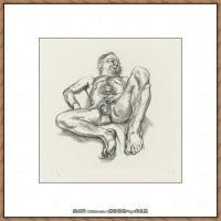 英国表现派绘画大师卢西安弗洛伊德Lucian Freud油画作品高清大图最贵画家卢西安弗洛伊德绘画作品高清图库 (95)