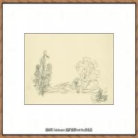 画家保罗克利Paul Klee油画作品高清图片野兽派油画大师作品高清大图 (121)