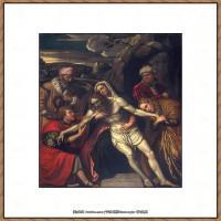 意大利画家卡拉瓦乔Caravaggio油画人物高清图片The Entombment