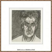 英国表现派绘画大师卢西安弗洛伊德Lucian Freud油画作品高清大图最贵画家卢西安弗洛伊德绘画作品高清图库 (44)