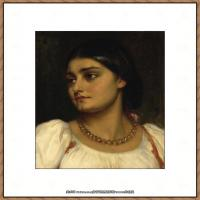 弗雷德里克莱顿洛德莱顿Frederic_Leighton油画作品高清大图古典油画作品高清图片 (18)