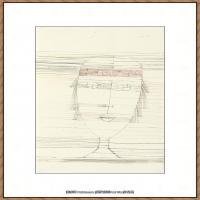 画家保罗克利Paul Klee油画作品高清图片野兽派油画大师作品高清大图 (123)