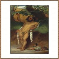 弗雷德里克莱顿洛德莱顿Frederic_Leighton油画作品高清大图古典油画作品高清图片 (72)