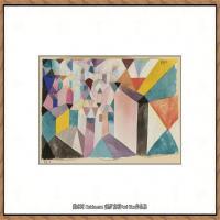画家保罗克利Paul Klee油画作品高清图片野兽派油画大师作品高清大图 (126)