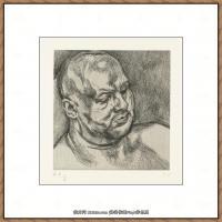 英国表现派绘画大师卢西安弗洛伊德Lucian Freud油画作品高清大图最贵画家卢西安弗洛伊德绘画作品高清图库 (13)