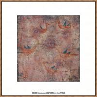 画家保罗克利Paul Klee油画作品高清图片野兽派油画大师作品高清大图 (45)