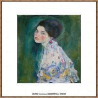克里姆特Gustav Klimt油画作品奥地利象征主义画家克里姆特油画作品高清图片 (6)