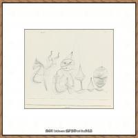 画家保罗克利Paul Klee油画作品高清图片野兽派油画大师作品高清大图 (78)