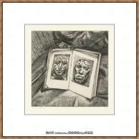 英国表现派绘画大师卢西安弗洛伊德Lucian Freud油画作品高清大图最贵画家卢西安弗洛伊德绘画作品高清图库 (7)