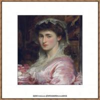 弗雷德里克莱顿洛德莱顿Frederic_Leighton油画作品高清大图古典油画作品高清图片 (20)