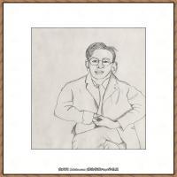 英国表现派绘画大师卢西安弗洛伊德Lucian Freud油画作品高清大图最贵画家卢西安弗洛伊德绘画作品高清图库 (80)